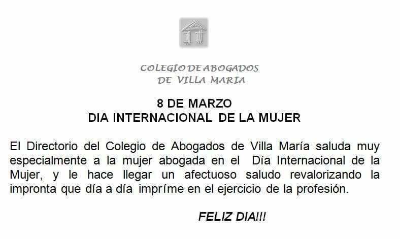 Colegio de Abogados de Villa MaríaColegio de Abogados de Villa María